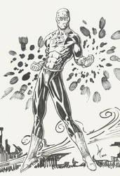 Argo Comics' Blue Dynamo by Lun-K