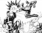King T'Challa versus the Black Panther