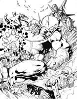 Avengers: Infinity War by Lun-K