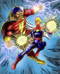 Captain Marvel vs. Captain Marvel