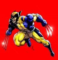 Wolverine Pounces by Lun-K