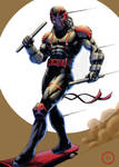 Night Thrasher (color) by Lun-K