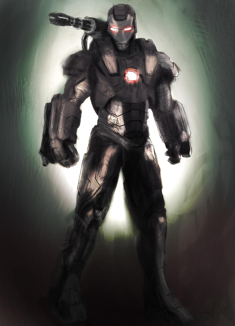 Black Iron Man by DaYDid on DeviantArt