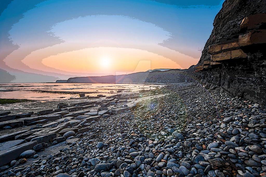 Jurassic-coast by nmmarkowa