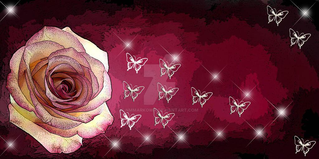 Rose by nmmarkowa
