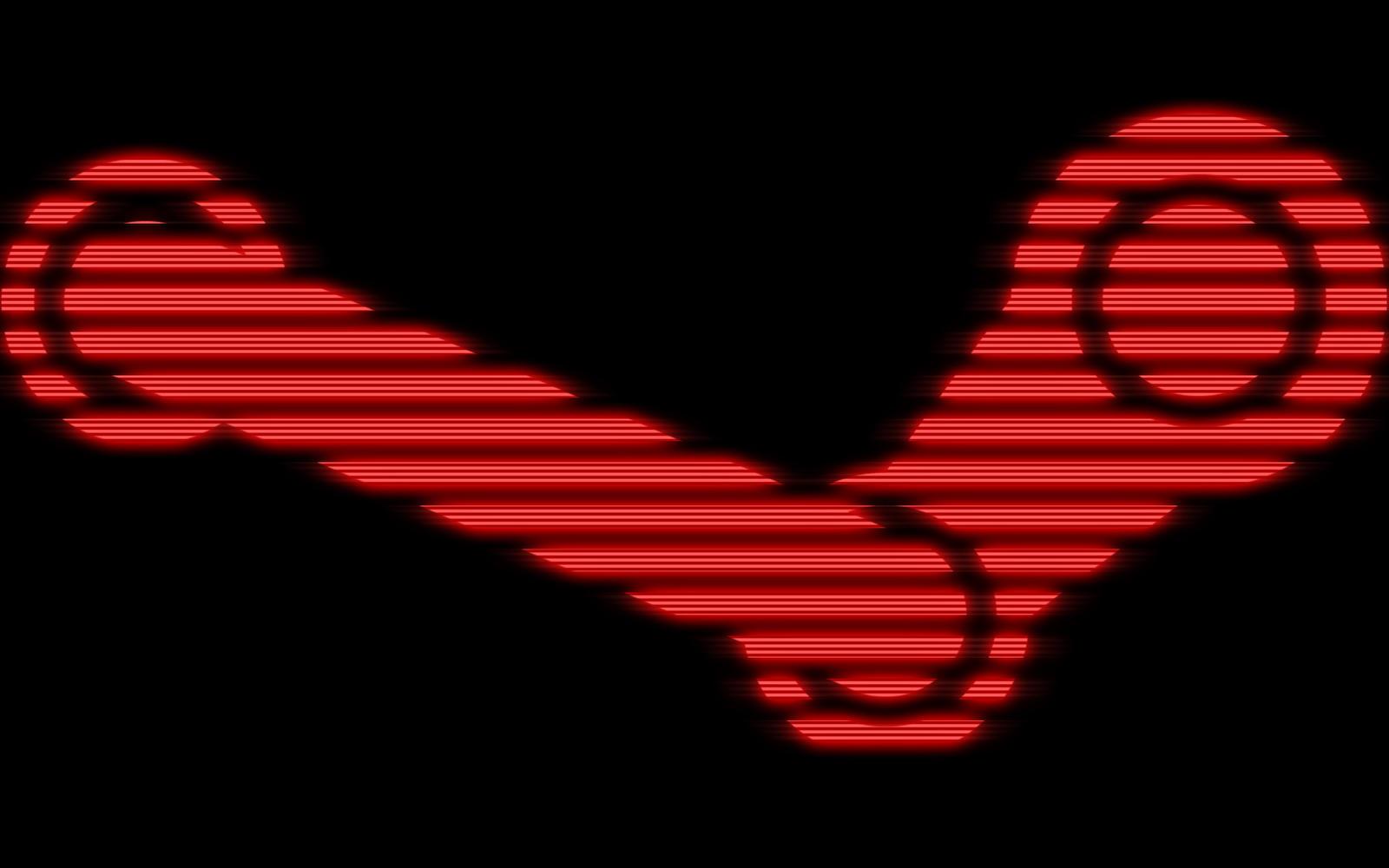 Steam Logo Retro Tv Style
