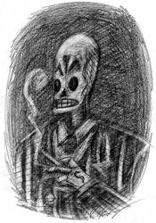 Manny Calavera Sketch