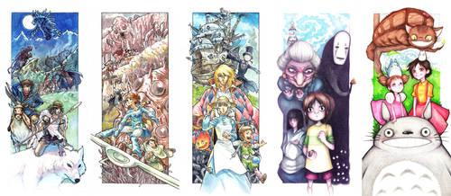 Ghibli Print Pack by ElectroCereal