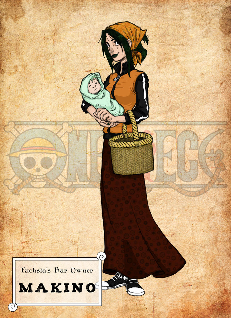 WANTED One Piece - Makino by ElectroCereal on DeviantArt