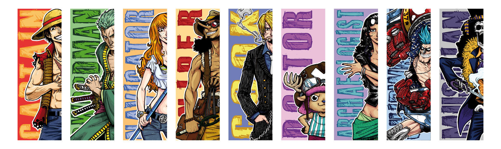 electrocereal 143 27 one piece bookmarks by electrocereal