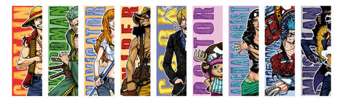 One Piece - Bookmarks
