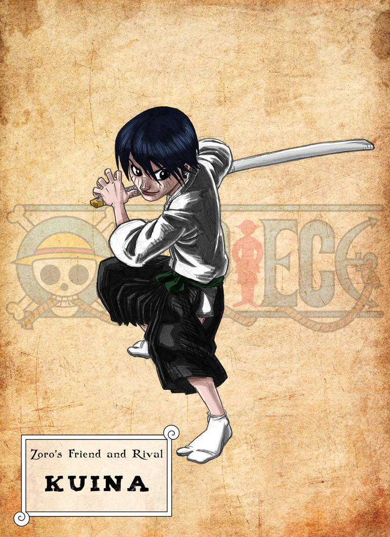 WANTED One Piece - Kuina by ElectroCereal on DeviantArt