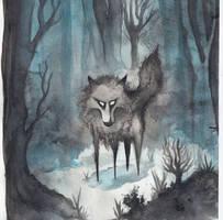 Peter's Wolf by aureateSUN