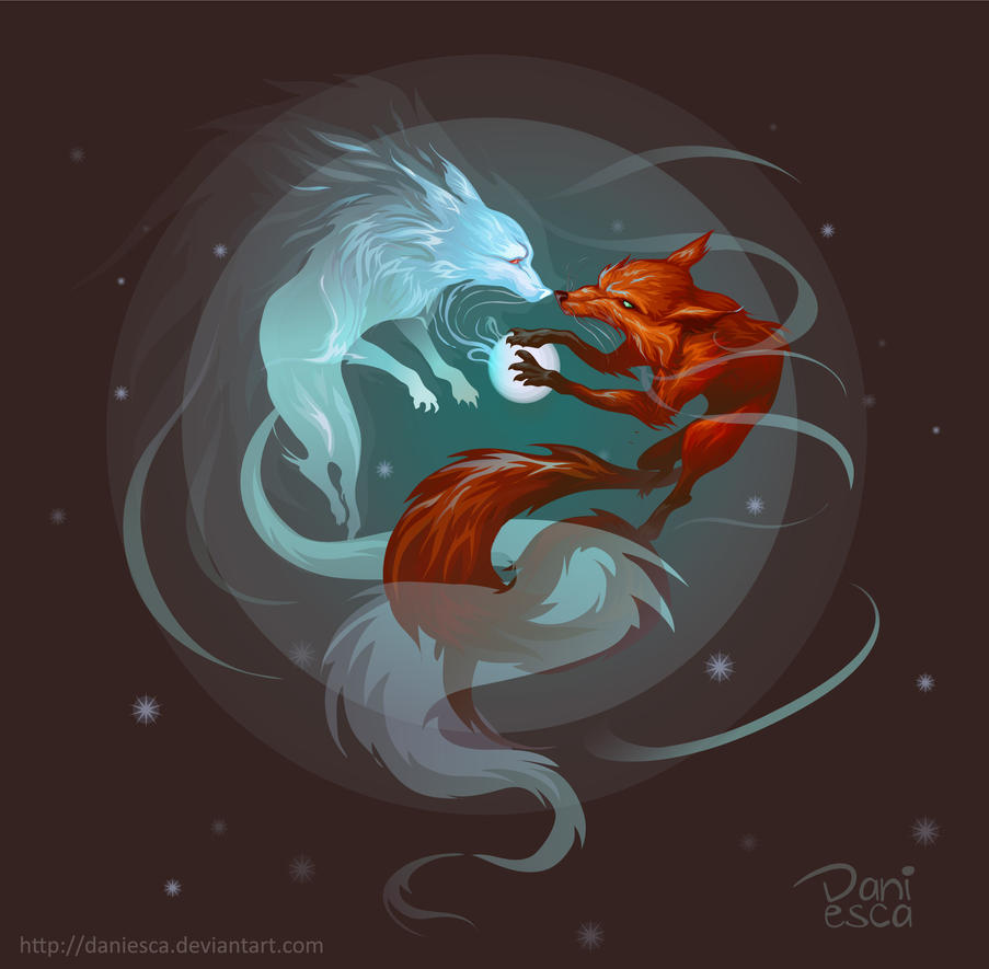 Fox spirit by Daniesca