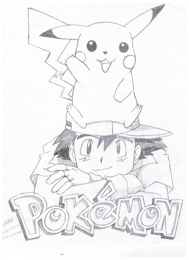 Pokemon - Ash And Pikashu By Aztilen-chan On DeviantArt