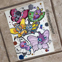 My Favorite Butterfly Pokemon by Aztilen-chan