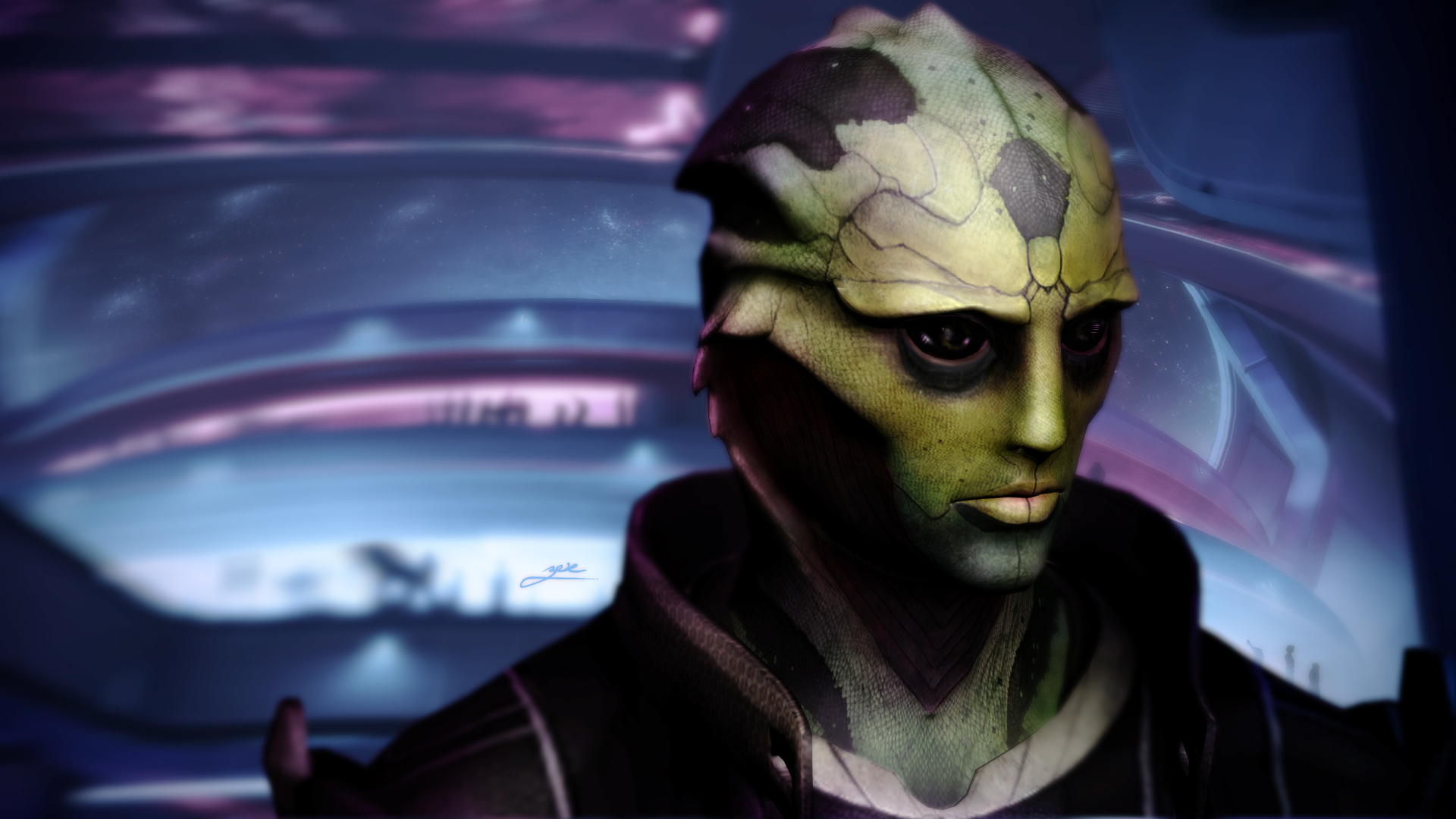 Thane by ZoeDemar