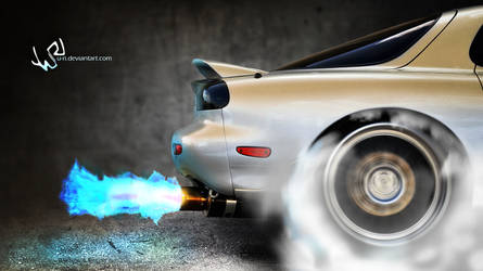Mazda Burnout by yurishopa
