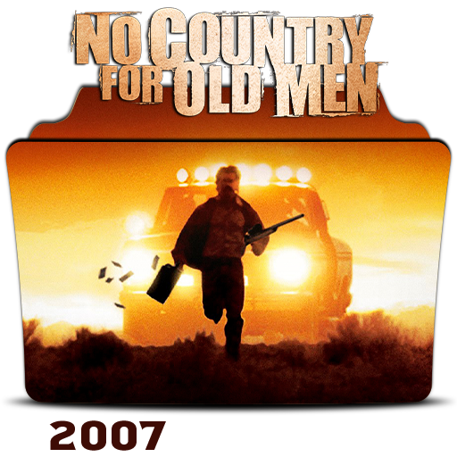 No Country For Old Men 2007 Folder Icon By Hossamabodaif On Deviantart