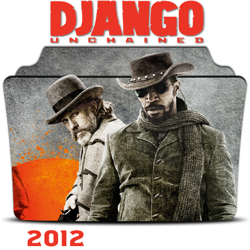Django Unchained 2012 Folder Icon By Hossamabodaif On Deviantart