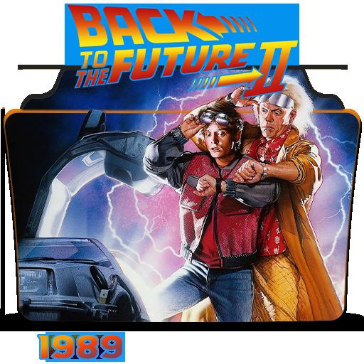 Back To The Future Part Ii 1989 Folder Icon By Hossamabodaif On Deviantart