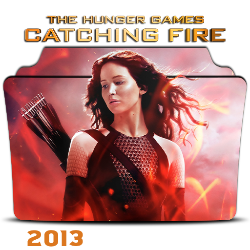 The Hunger Games Catching Fire 2013 Folder Icon By Hossamabodaif On Deviantart