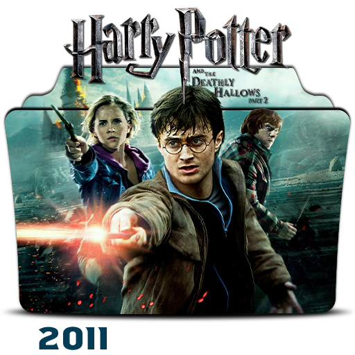 Harry Potter Deathly Hallows Part 2 2011 Icon By Hossamabodaif On Deviantart