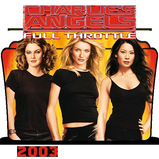 Charlie S Angels Full Throttle 2003 Folder Ico By Hossamabodaif On Deviantart