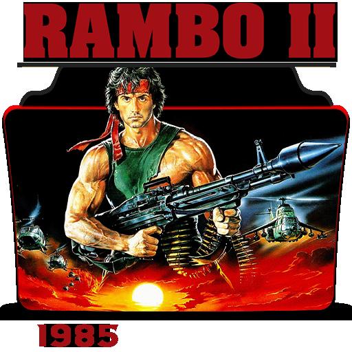 Rambo First Blood Part Ii 1985 Folder Icon By Hossamabodaif On Deviantart