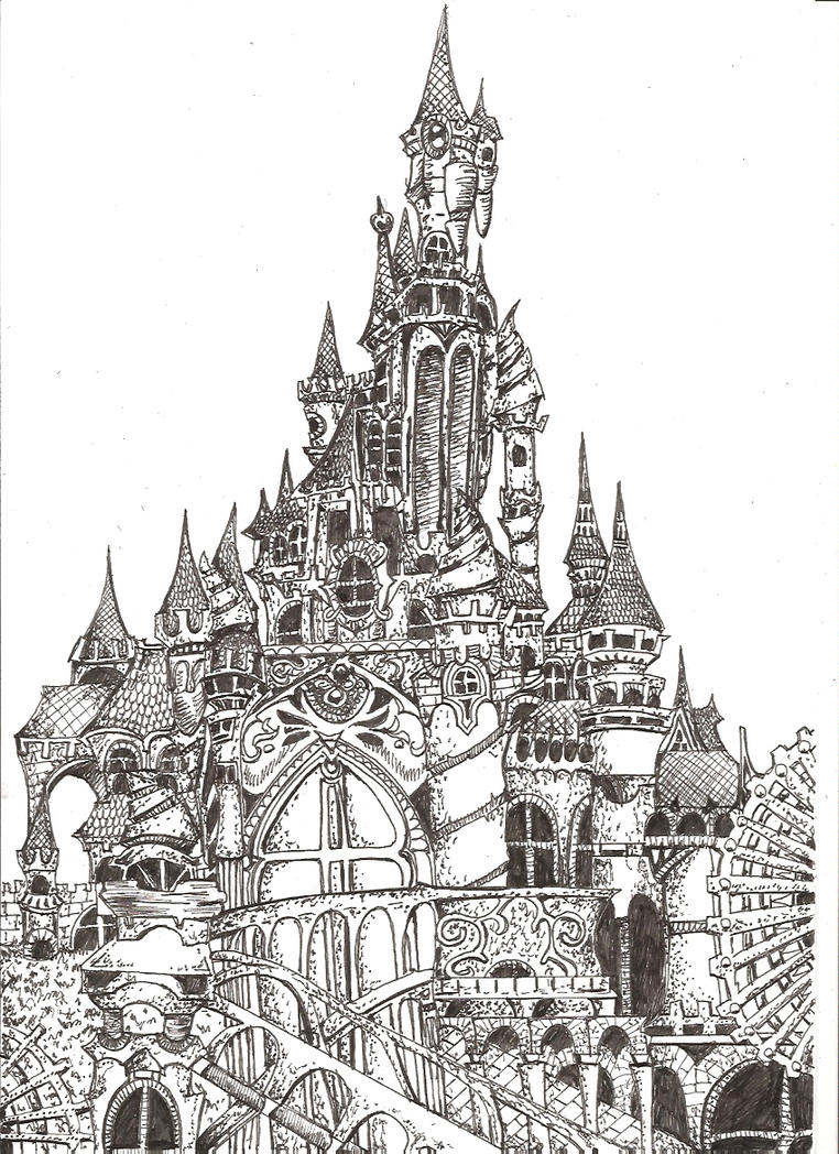 Fantasy Castle By Envoysoldier On DeviantArt