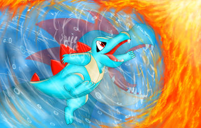 Totodile- A Heart of Determination!