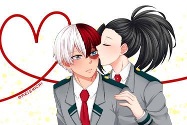TodoMomo {Kiss} by Reishichi
