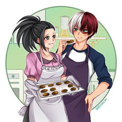 Baking Cookies by Reishichi