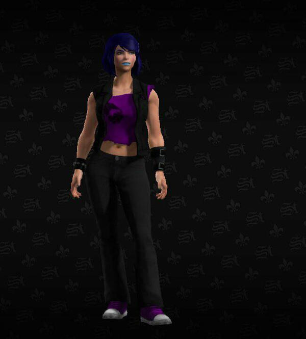 Saints Row: The Third Character by I-Am-The-New-L