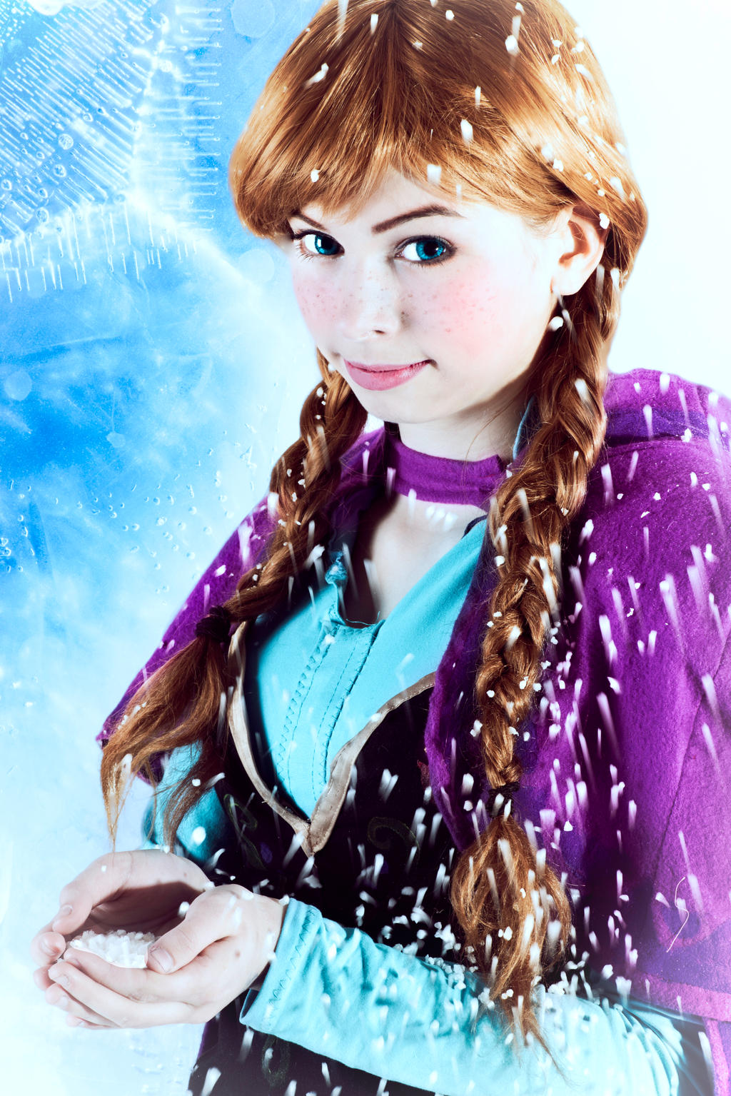 Frozen Anna Cosplay- Do u want to build a snowman? by ...