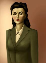 Mademoiselle de retro by bLynnne