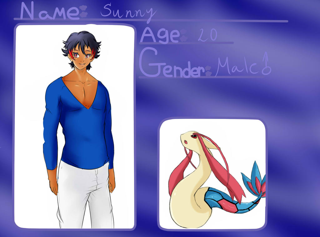 Sunny Character Card by Blacklynx3