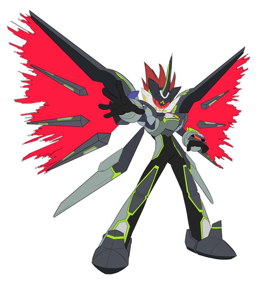 Megaman Black Ace (WIP) by Blacklynx3