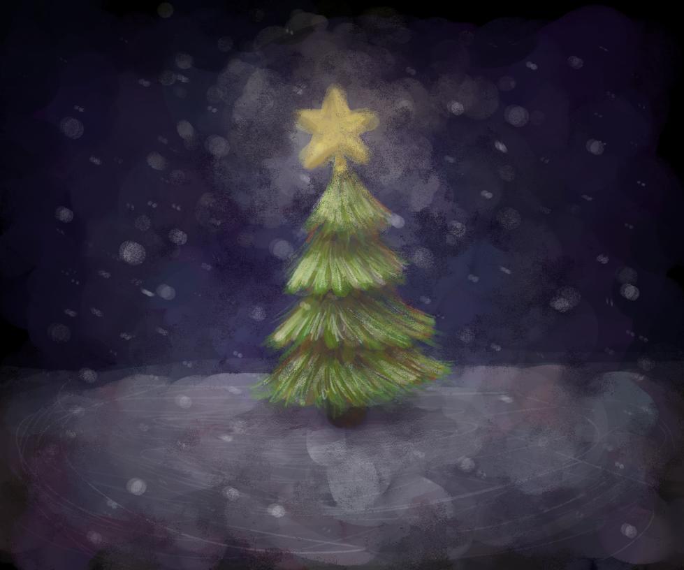 Tiny Christmas Tree by NicolaCola