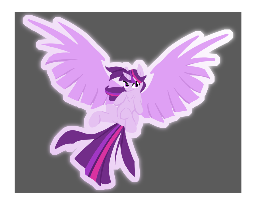Twilight Sparkle, the Ascended by Kryzx