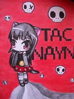 Chibi Tac Nayn girl by Kaidankuri