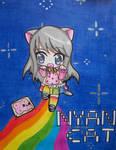 Chibi Nyan Cat Girl