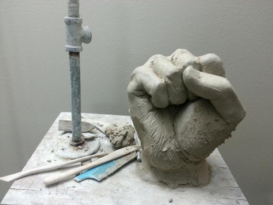 Fist by FaisalAlahmad