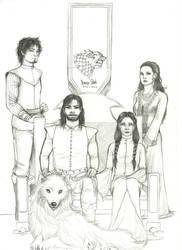 GH: House Stark of Winterfell by nanakohojo