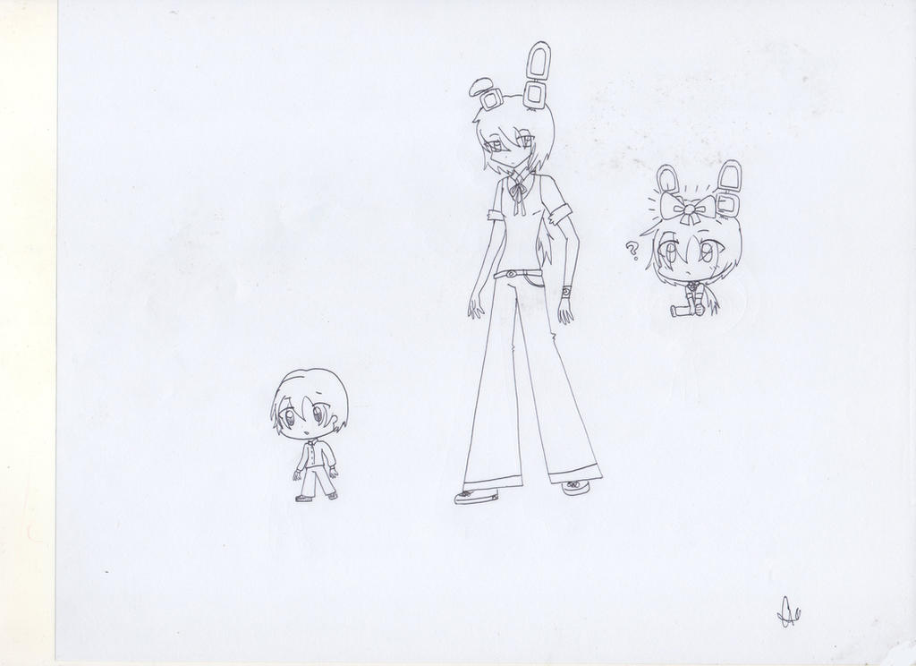 fnaf bonnie human version fanart by eviliceempress53846