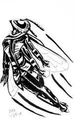 Melliferan in Flight by typomazoku