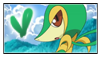 Snivy Stamp by Hime--Nyan