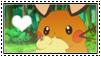 Dedenne Stamp