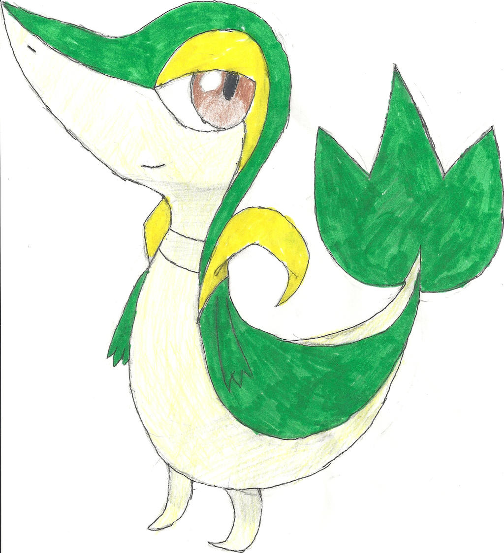 Learn How to Draw Snivy from Pokemon (Pokemon) Step by Step ...