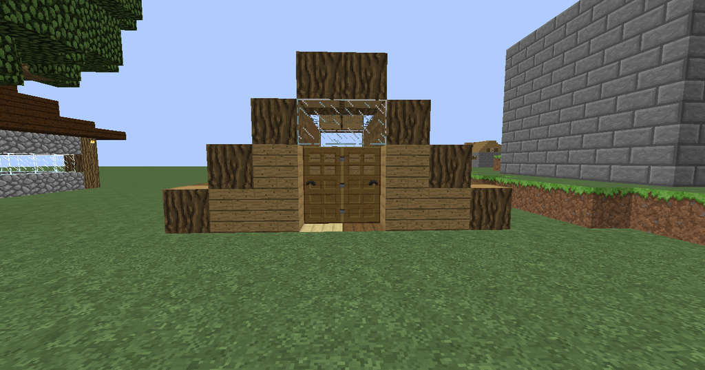 Minecraft Other: Storage Warehouse: Outside By IxXGoldXxI ...